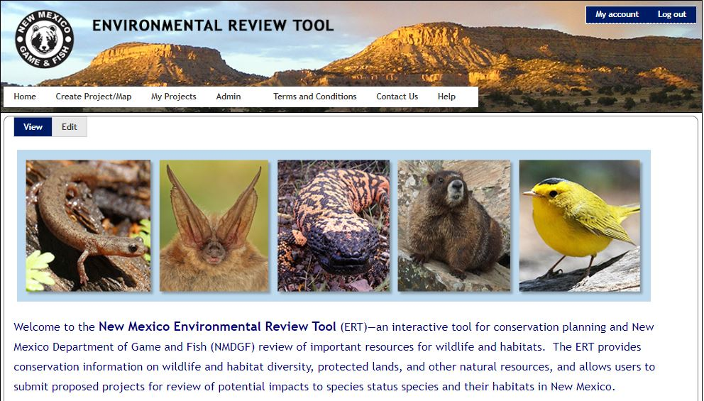 New Mexico Environmental Review Tool