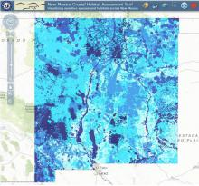 New Mexico Crucial Habitat Assessment Tool Online Map